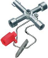 Clés pour armoire de distribution Knipex