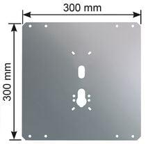 Plaque de protection acier pour serrure 4 points. Plaque de protection acier pour serrure 4 points