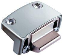 Gâche réglable pour 2 vantaux profil PVC