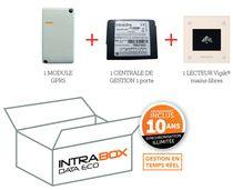 Intrabox Data Eco lecteur de proximité Vigik® mains-libre