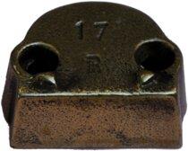 Réhausse pour gâche pour tringle 16 x 5 mm