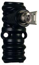 Coulant à clés pour tringle 16 x 8 mm