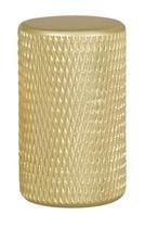 Bouton GRAF aluminium anodisé Doré brossé
