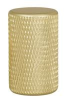 Bouton GRAF 0109 aluminium Anodisé doré mat