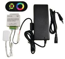 Kit transformateur + télécommande RGB 24 v
