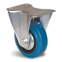 Roulette PORTROLL roue caoutchouc bleu