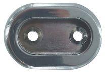 Enjoliveur pour tube de penderie ovale