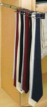 Porte-cravates coulissant 2 rangées