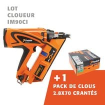 Cloueur IM90Ci + pack de clous