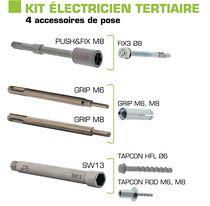 Kit accessoires électricien tertiaire