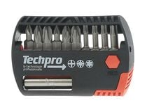 Coffret embout torsion 11 pièces Phillips/Pozidriv/Torx