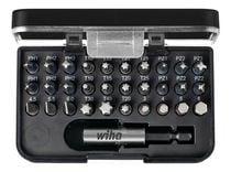 Coffret 30 embouts standard FENTE / PH / PZ / TORX /6 PANS + porte-embout Coffret 30 embouts standard FENTE / PH/PZ / TORX / 6 PANS + porte-embout