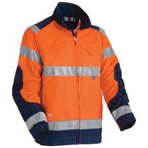 Blouson HV Luk-light Orange / marine