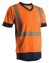 T-shirt HV manches courtes Orange