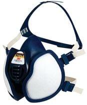 Demi-masque anti-vapeur et anti-gaz 4277+ ffabe1p3 rd