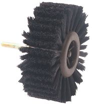 Brosse rotative soie naturelle