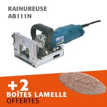 Lot rainureuse AB111N + 2 boites lamelles offertes