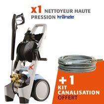 Lot nettoyeur haute pression X A15 TST + kit canalisation offert