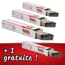 Lot 3 boîtes de 5 kg d'électrodes rutiles + 1 boîte de 5 kg gratuite