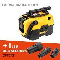 Lot aspirateur 18 v solo + raccords offerts