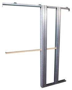 Ferrures pour portes coulissantes à galandage