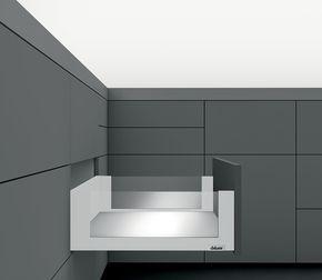 Kit tiroir LÉGRABOX free - Argent polaire mat