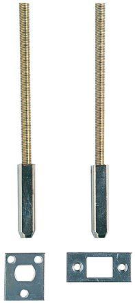 Kit de tringles hautes et basses pour serrure menuiserie métallique