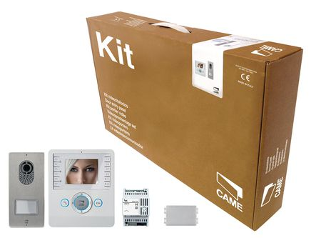 Kit interphone vidéo bianca 3.5