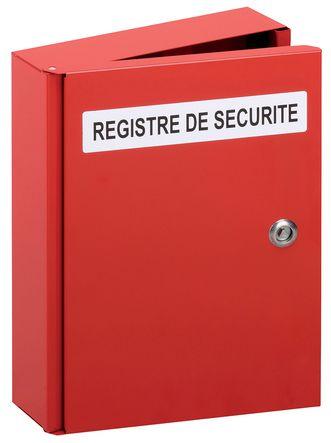 Coffret pour registre de sécurité
