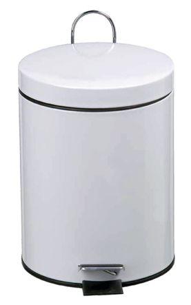Poubelle ronde à pédale 5 litres