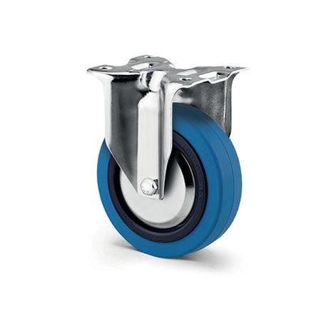 Roulette industrielle roue bleu