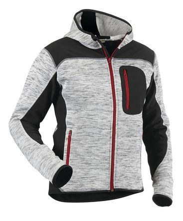 Veste tricotée fashion à capuche 4930