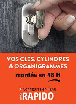 Cylindres Et Serrures Fichet Foussier Quincaillerie - Porte placard coulissante jumelé avec serrure fichet prix
