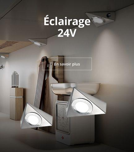 Éclairage 24V