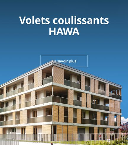 Volets coulissants Hawa